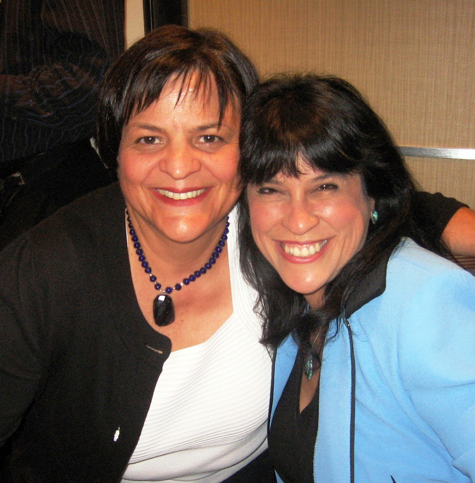 Annmarie Kelly with Fran Capo