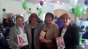 annmarie at author event