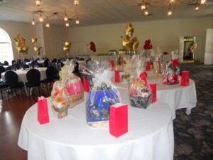 Girl Friend Gala Table Setup