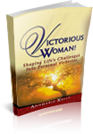 Victorious Woman Shaping Lifes Challenges into Personal Victories