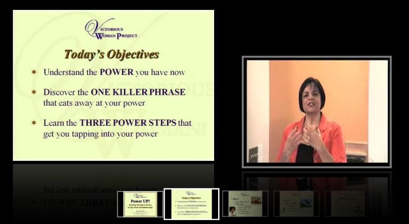 Power Up Webinar - on Sale!