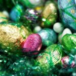 Foil Wrapped Easter Eggs --- Image by © Royalty-Free/Corbis