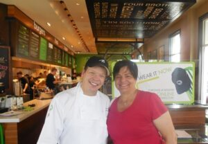 Annmarie and Paul Wahlberg