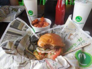 LunchAtWahlburgers