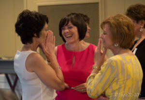 Cathy Sikorski and friends at Girlfriend Gala