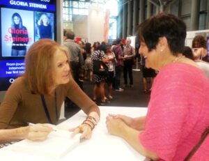 Annmarie Kelly & Gloria Steihnman