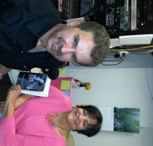 Annmarie with author