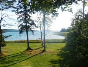 View of Clarks Cove from Windward Cottage