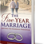 The Five Year Marriage by Annmarie Kelly Book Cover Art