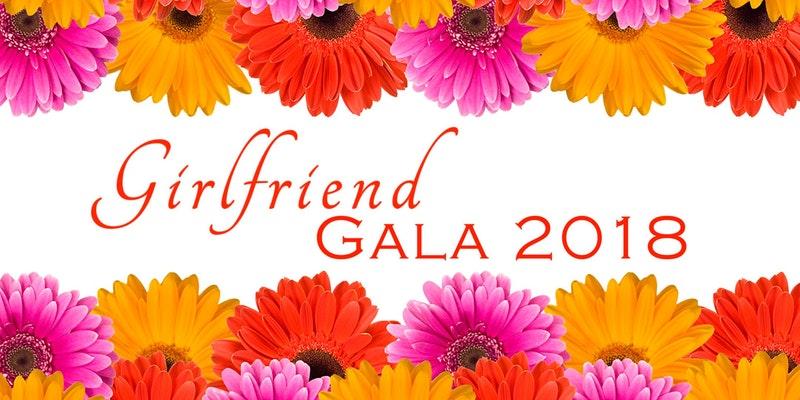 Girlfriend Gala 2018 headline image of flowers, celebrating women