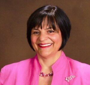 Annmarie Kelly Headshot - Pink Jacket