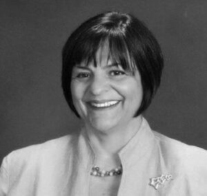 Annmarie Kelly Headshot 2 BW