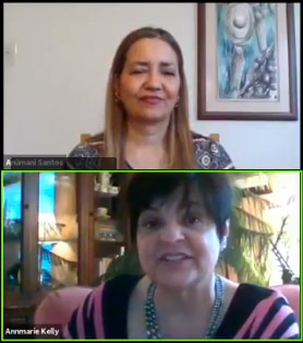 unmaksing your soul interview Anumami Santos & annmarie kelly