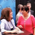 Annmarie with Sally Field