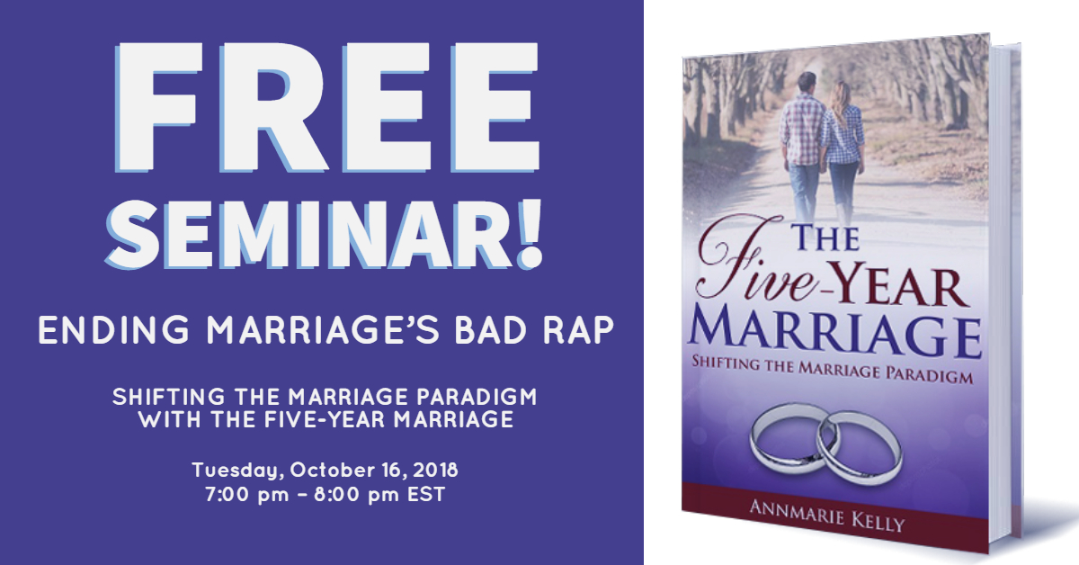 five year marriage free seminar