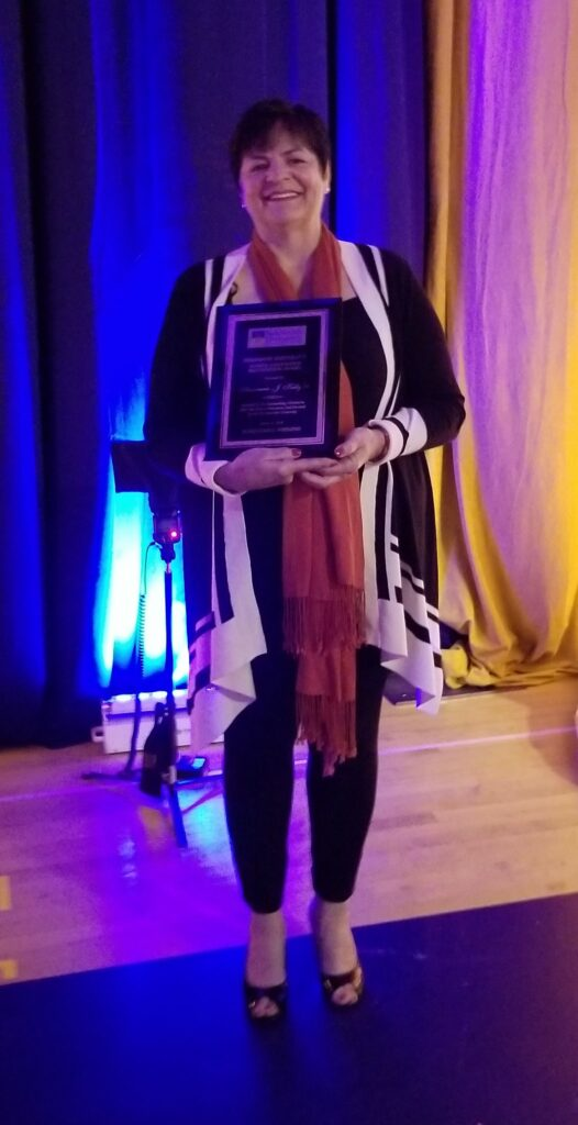 Annmarie Kelly featured as distinguished alumni