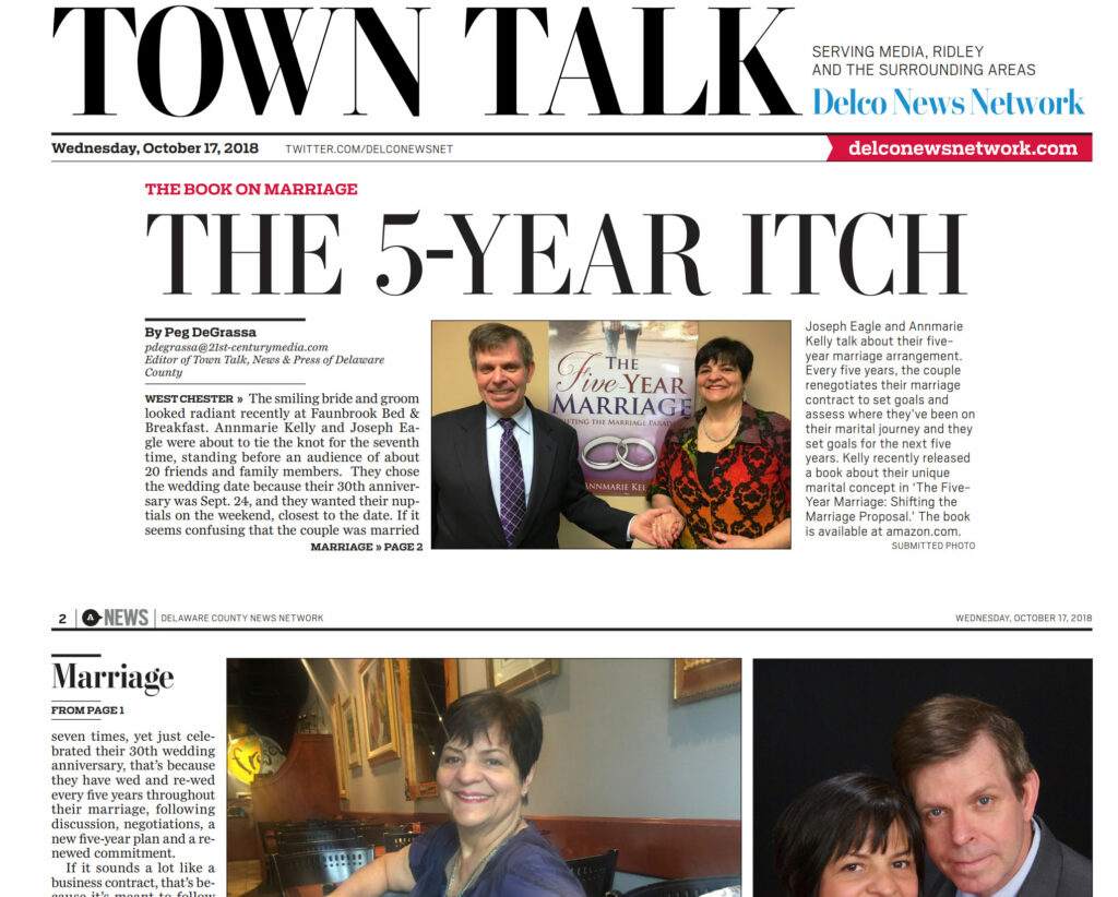 contract marriage - annmarie kelly - town talk