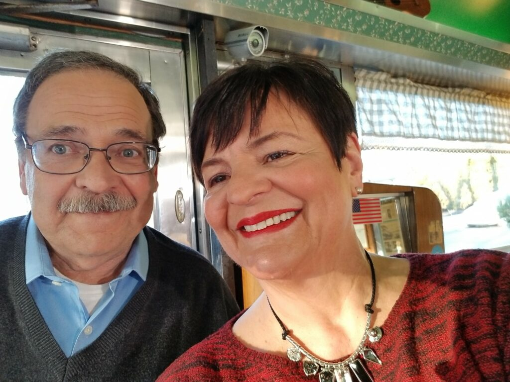 annmarie kelly with Grover Silcox on PBS39 show Counter Culture