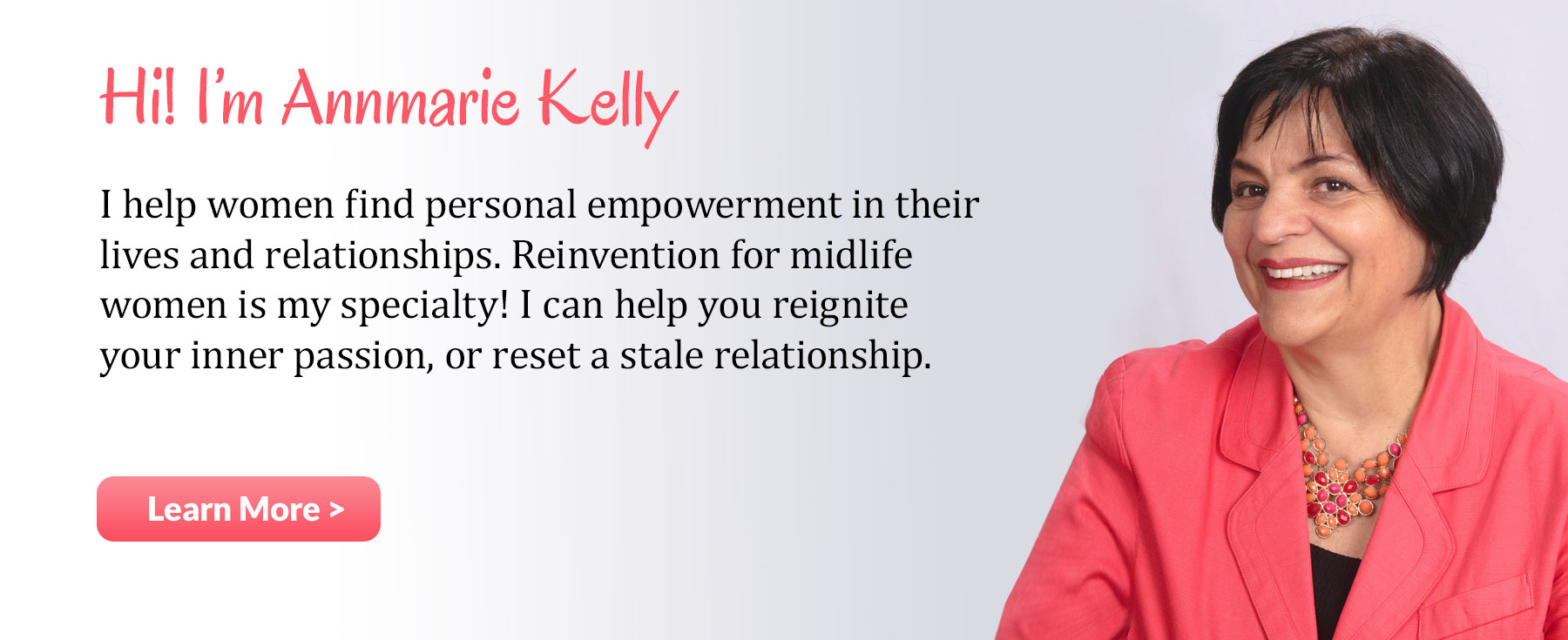 Annmarie Kelly, womens empowerment leader