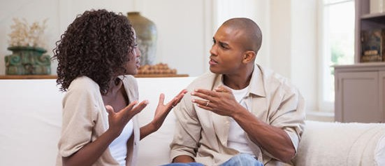 fighting couple fixes relationship