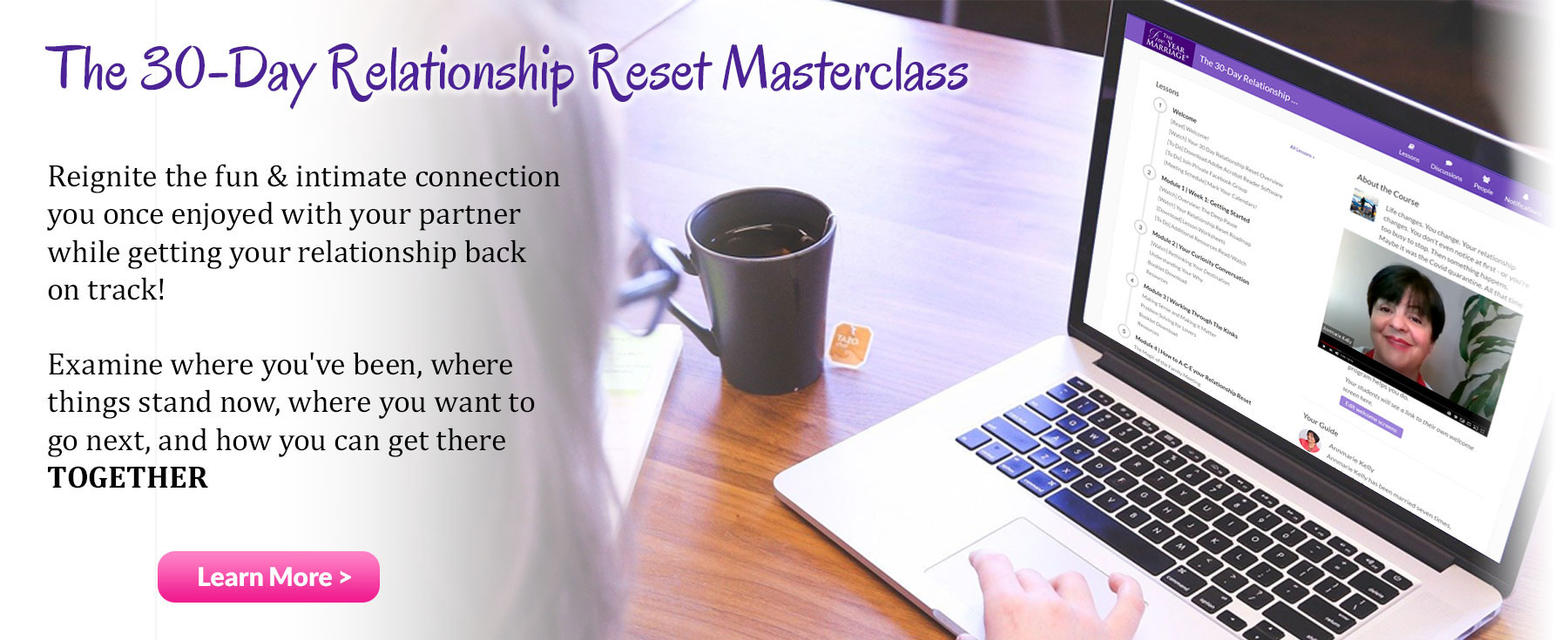 Relationship Reset Master class Annmarie Kelly
