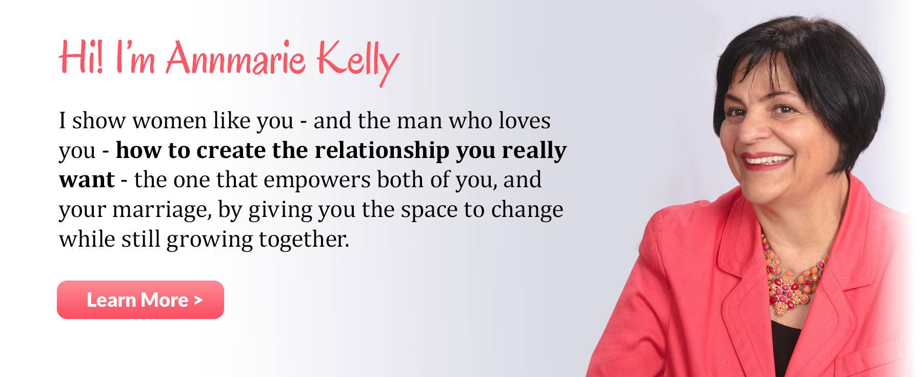 Annmarie Kelly, Author, Speaker, Empowering women