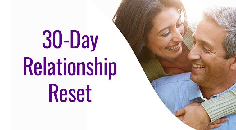 relationship fix - reset marriage