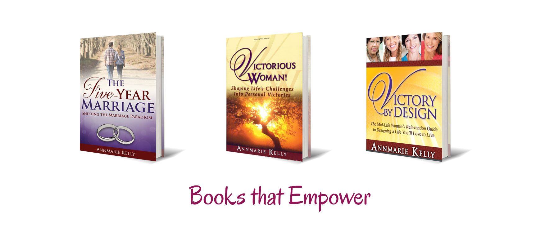 The Five Year Marriage Book by Annmarie Kelly