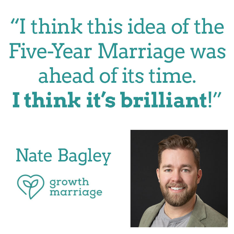 growth marriage Nate Bagley's review of five year marriage
